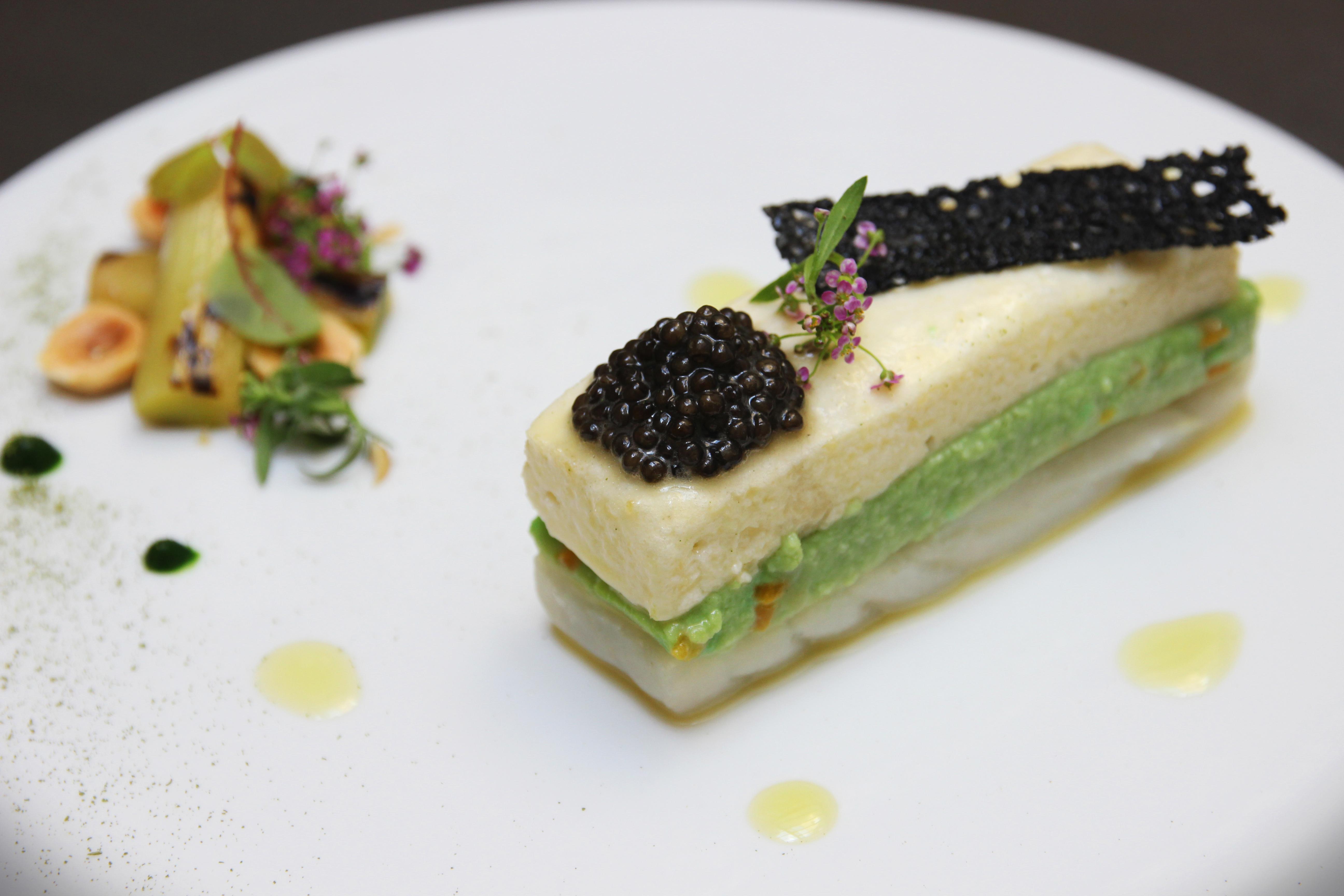 Alexandre Baumard - Logis de la Cadène - Menu tout caviar