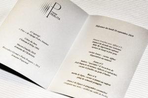 Caviar Perlita - Carré des Feuillants - Menu